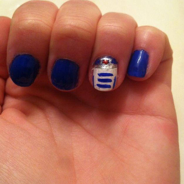 R2d2 Nails Nail Designs Nails Class Ring