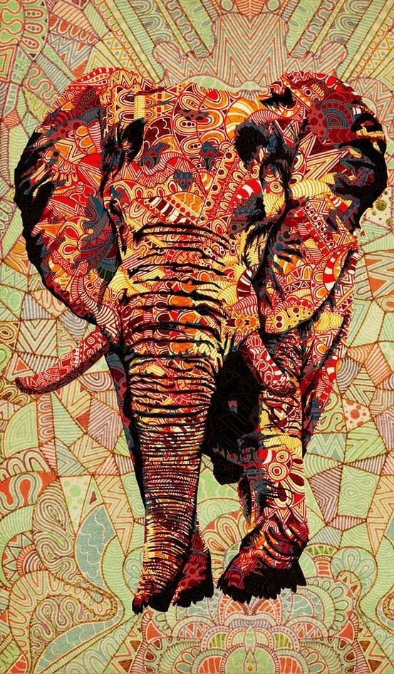 Elephant - tattoo idea...? Elephants represent power, stability, family and companionship like no other animal.