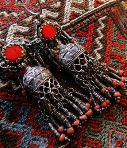Details of the Armenian national costume...