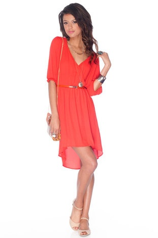 tobi wrap dress: Wrap Dresses, Coral Wraps Dresses, Spring Dresses, Danger Dresses, Dresses 16, Cute Dresses, Darling Wraps, Closet, Dresses Website