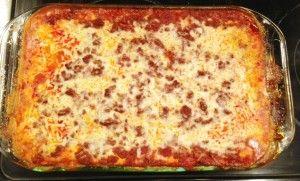 Gluten Free Meat Lasagna