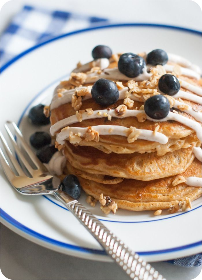These aren't your mama's blueberry pancakes...