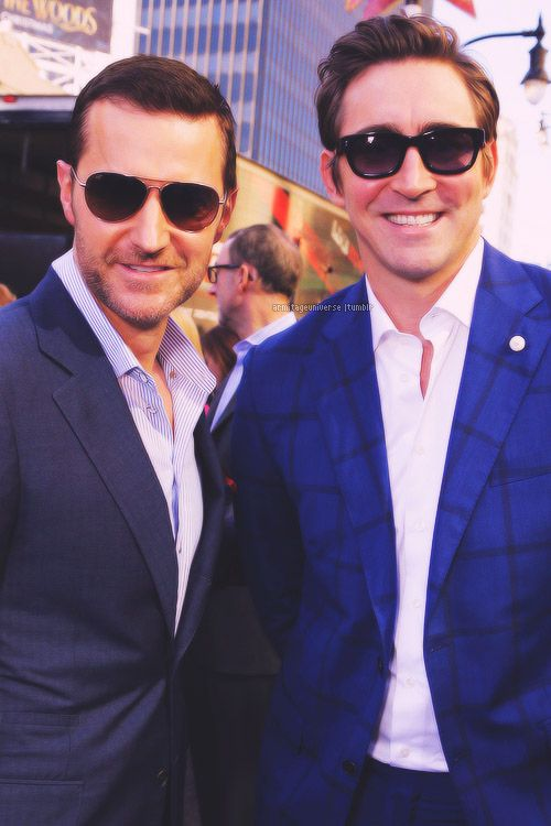 Hot. Hot. Hot. Lee Pace and Richard Armitage, Hollywood, Dec. 8, 2014.