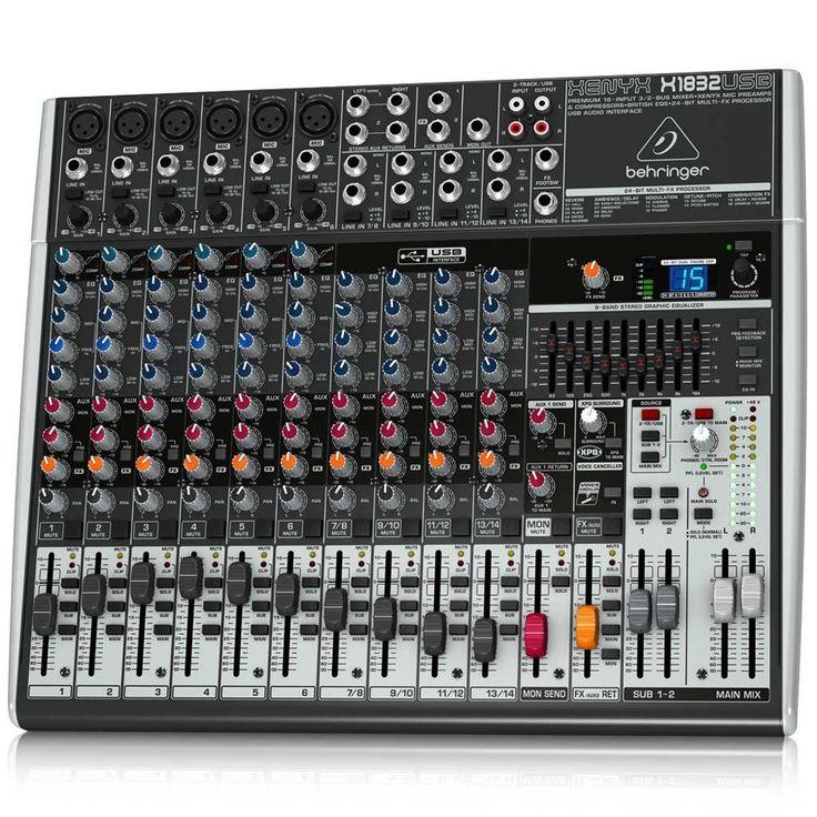 Für die Musiker, DJs und Co. unter unseren Besuchern! Bei amazon gibt es gerade das Behringer Michpult für 177,66€ - der geizhals.at Vergleichspreis liegt bei 263€!   #Amazon #DJ #Elektronik #Mischpult #Musik #Musiker