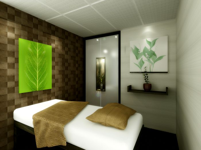 Spa room design