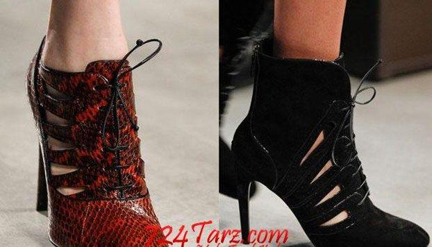 Kışlık Abiye Ayakkabı Modelleri