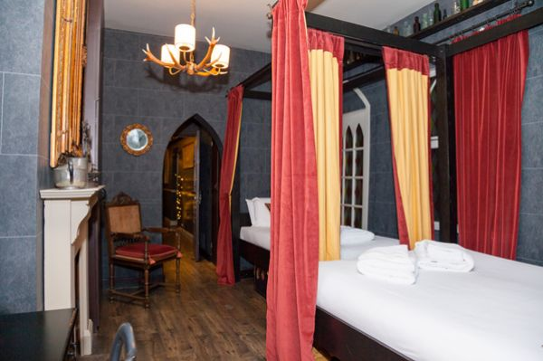 A must for Harry Potter fans - The Wizard Chambers at the Georgian House Hotel in London