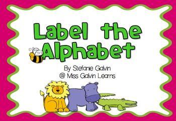 Label the Alphabet
