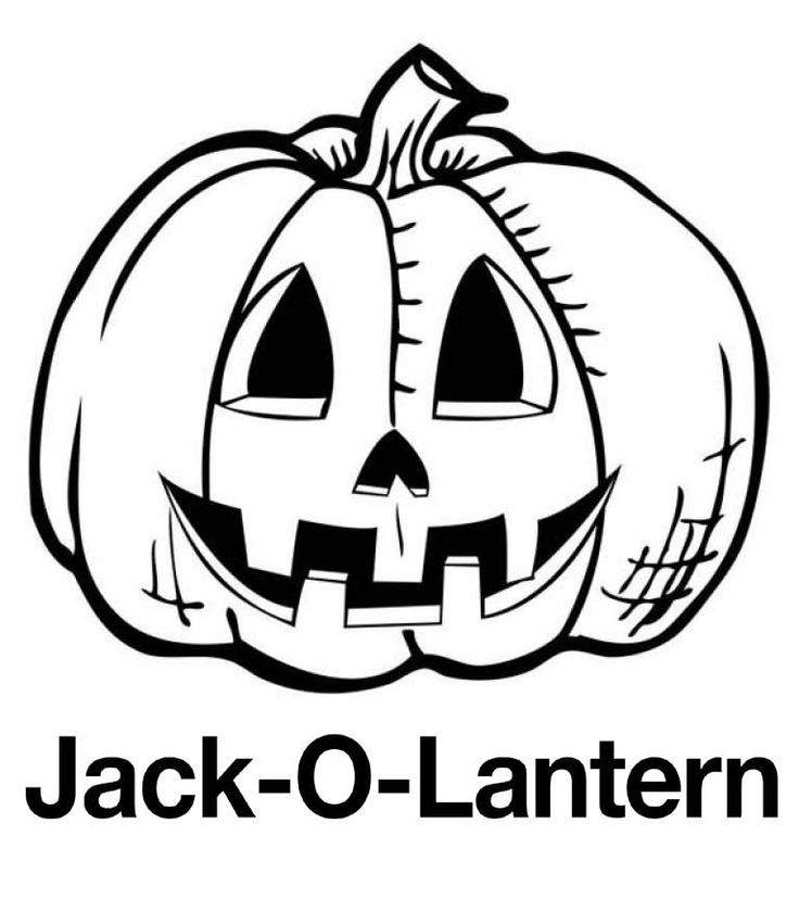 Jack O Lantern Pumpkin Coloring Pages. Also see the ...