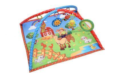 Bondigo Minik Çiftçi ve Onun Sevimli Dostları Bebek Oyun Halısı