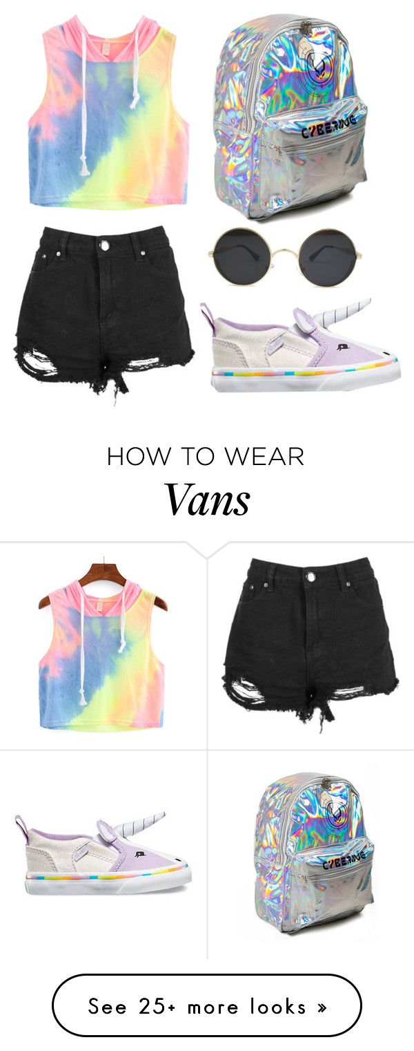 """""""Untitled #39"""" by the-stardust on Polyvore featuring Vans"""