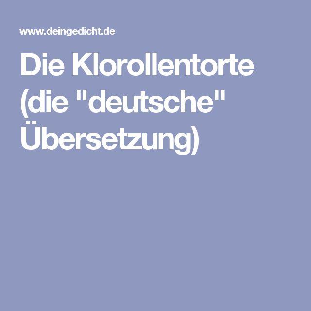 """Die Klorollentorte (die """"deutsche"""" Übersetzung)"""