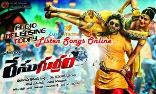Allu Arjun's Race Gurram Movie Audio Songs Listen Online, Lahari Music presents Race Gurram songs, Music