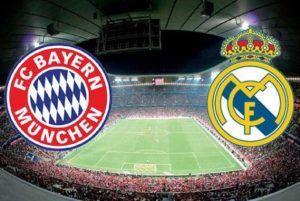 Prediksi Skor UCL Bayern Munchen Vs Real Madrid 13 April 2017
