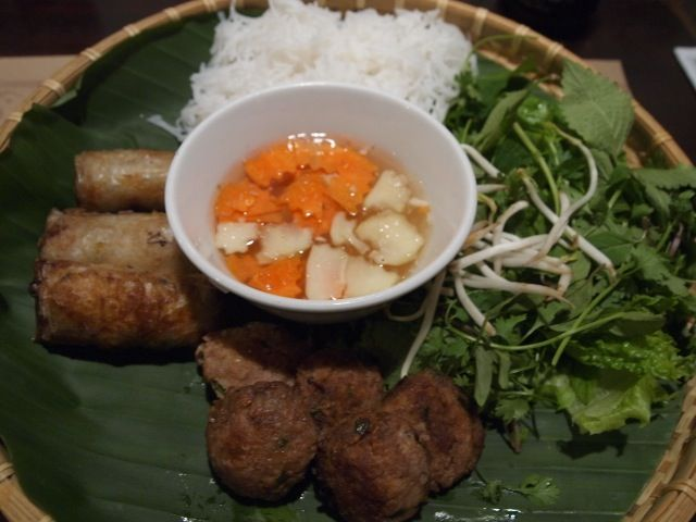 Bun Cha at 69 Bar-Restaurant, Hanoi