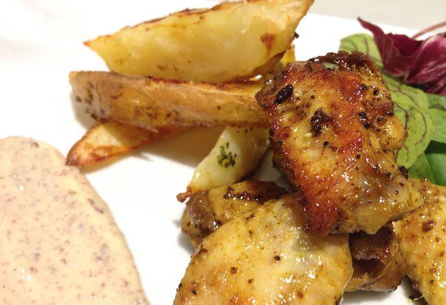Alette di pollo alla senape | Food Loft - Il sito web ufficiale di Simone Rugiati
