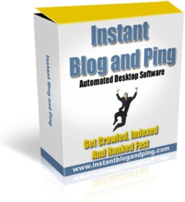 Instant Blog and Ping Automated Desktop Software (MRR)-Download This Software At:   http://www.tradebit.com/filedetail.php/8985878-instant-blog-and-ping-automated-desktop-software