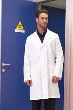 PAGAMENTO ANCHE ALLA CONSEGNA Camice da lavoro Uomo Medico Sanitario Dottore Farmacista Abbigliamento Abiti