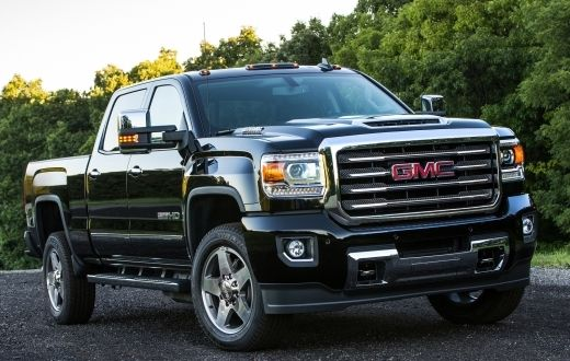 2017 GMC Sierra 2500HD Double Cab Colors