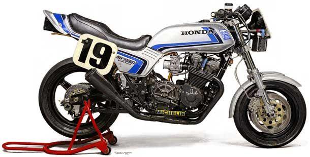 1982 HONDA CB750F Daytona Racer             Always loved the lines of this bike !