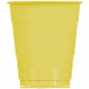 Lemon Meringue Pie Plastic 12 oz. Cup 20 Count by Party Express. $5.49. Size is 12 ounce. Coordinates with our other Solid and Print Party Supplies. Best Quality Available. Outstanding Hallmark Quality 12 oz. Plastic Cups