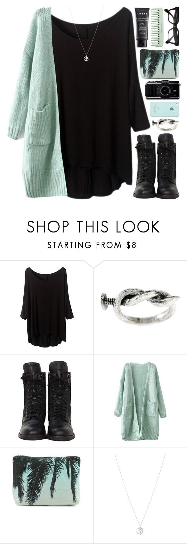 """""""Considerately"""" by briannaterese ❤ liked on Polyvore featuring LORAC, ASOS, Samudra and Ileana Makri"""