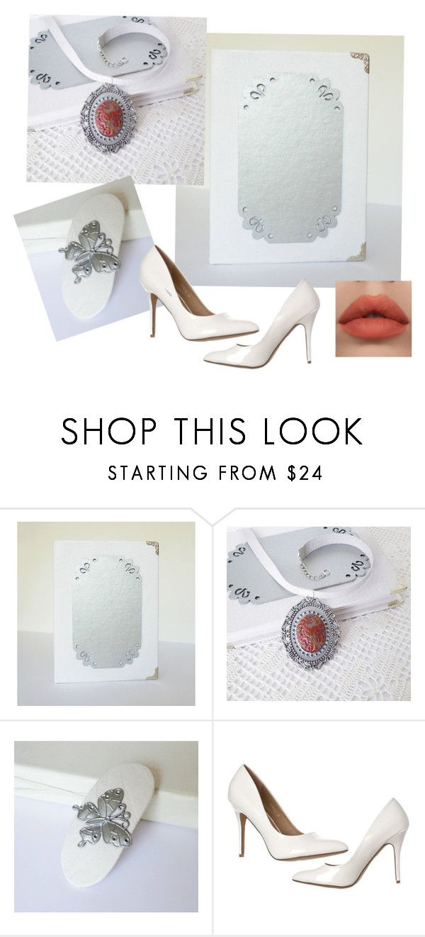 """""""White and silver leather gifts"""" by annakis on Polyvore"""