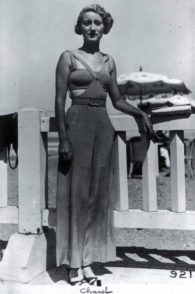 "Portrait of Gabrielle ""Coco"" Bonheur Chanel by Lipnitzki, 1936 ~ ?"