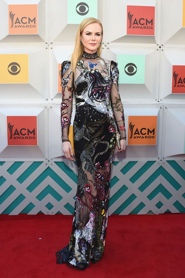 Best Dressed: The Week in Outfits Nicole Kidman supported her husband at the Academy of Country Music Awards Red Carpet this week, but she stole the show in Alexander McQueen's fantasy-driven take on the naked dress.