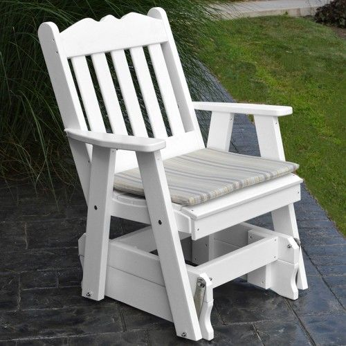 Royal English Recycled Plastic Glider Chair