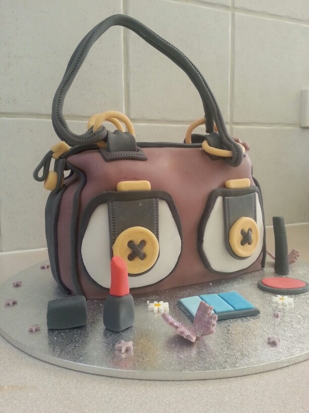 Mimco handbag cake, Emma's 25th birthday