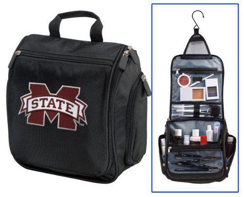 Mississippi State University Cosmetic Bag or Mens Shaving Kit - Travel Bag Mississippi State Makeup Toiletry Bag UNIQUE GIFT FOR MEN OR LADIES Broad Bay. $28.99