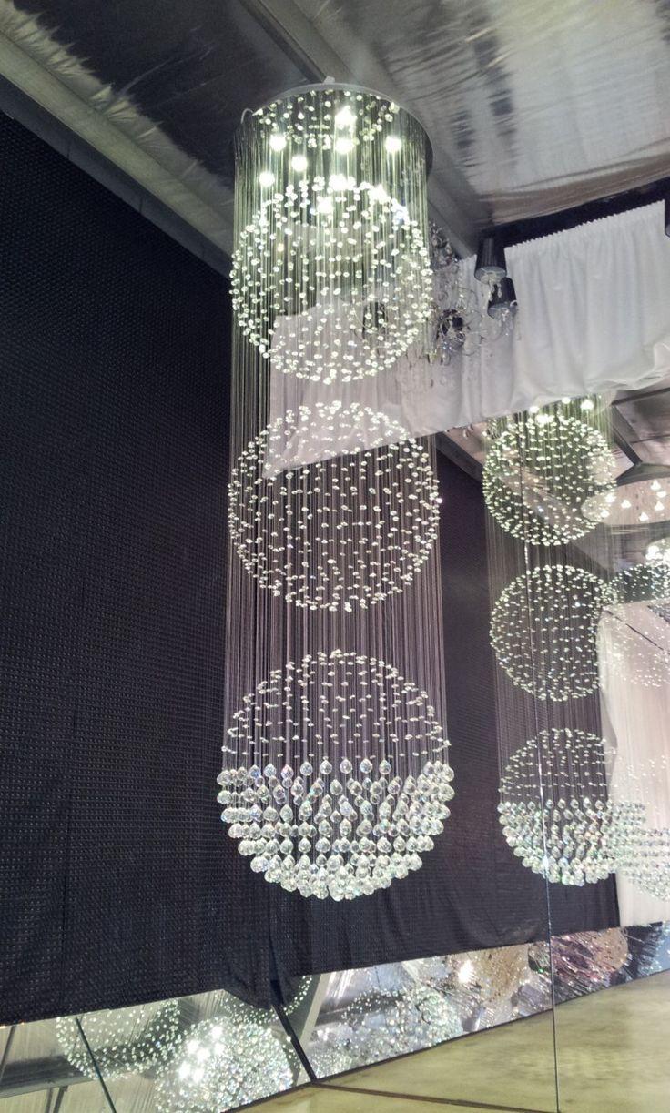 Designer Chandelier Australia Pty Ltd - Triple Ball LED Contemporary Sphere Crystal Chandelier, $3,200.00 (http://www.designerchandelier.com.au/triple-ball-led-contemporary-sphere-crystal-chandelier/)