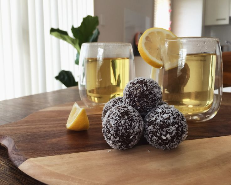 I Heart Tea – Tea Time: Coco-Nut Bliss Balls Recipe