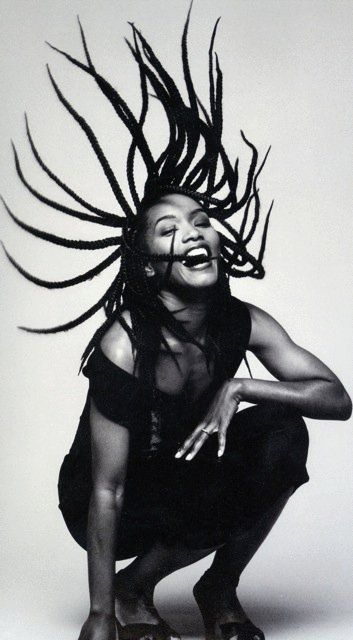 Angela Bassett. Harper's Bazaar, 1992. I saw this photo...and I was hooked!