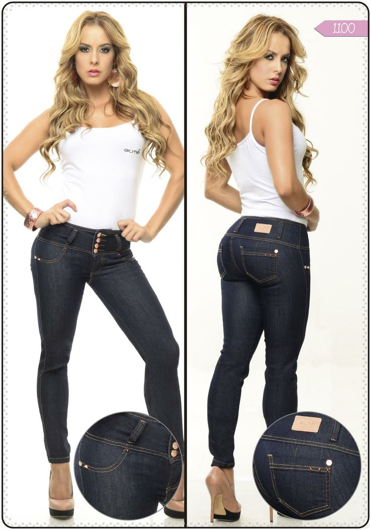 Jeans tobillero referencia 1100 - Sexy, yet Casual #Fashion #sexy #woman #womens #fashion #neutral #casual #female #females #girl #girls #hot  #hotlooks #great #style #styles #hair #clothing  www.ushuaiajean.com.co