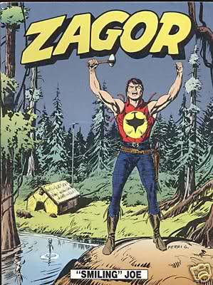 Zagor stripovi (mostly read during our long summer holidays)