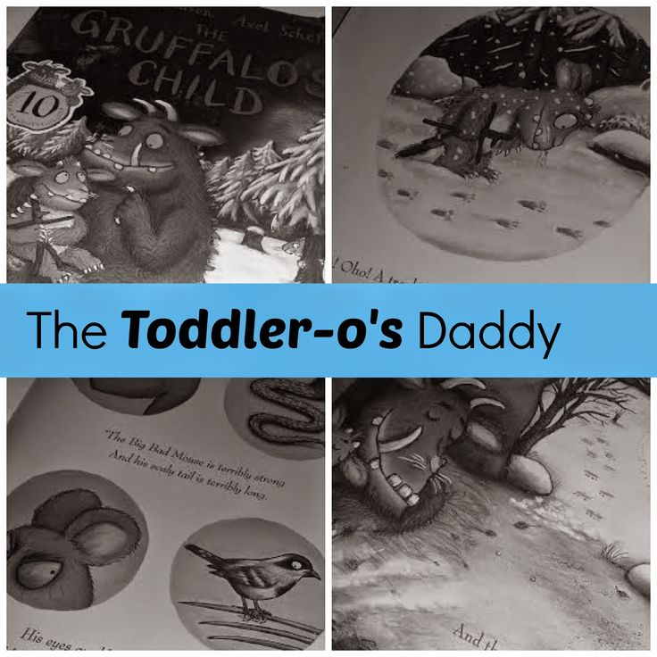 The Toddler-o's Daddy (the Mummy Alternative to The Gruffalos Child) | Life with Baby Kicks