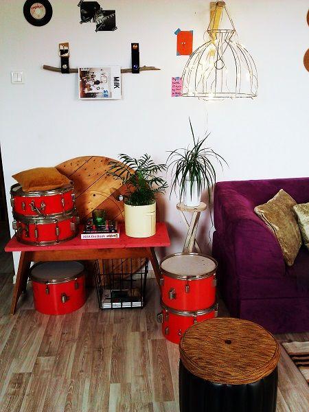 Re- arranged livng room corner :-)