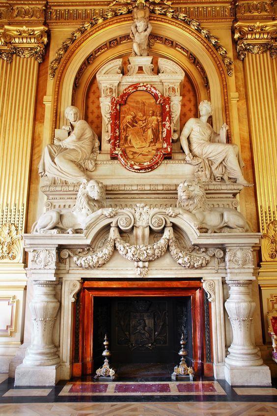 Mjestic Fireplace #fireplace #ClasicDesign #Design #Luxury