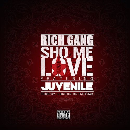 """Prev1 of 2Next After recently signing with Cash money for the third time in his career, Juvenile gives fans his new single """"Sho Me Love"""" featuring Drake. Produced by London On The Track. Off of the new album Rich Gang 2, which is coming soon. Hit page 2 for the audio. Prev1 of 2Next"""