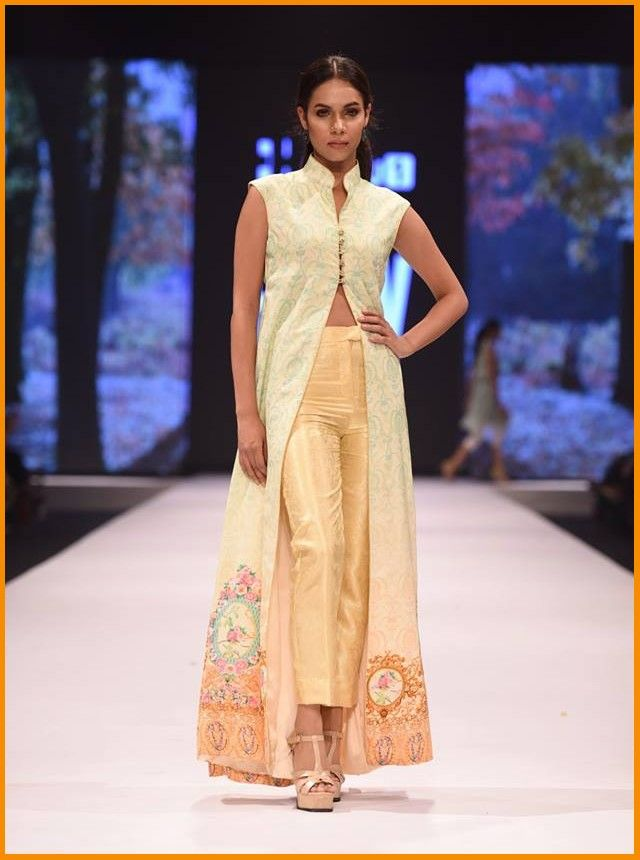 Pakistan Fashion Week 2016 Dresses By Al Karam   #AlKaram #AlKaramStudio #FashionWeek #FPW16 #Dresses #PakistaniLawn #PakistaniDresses