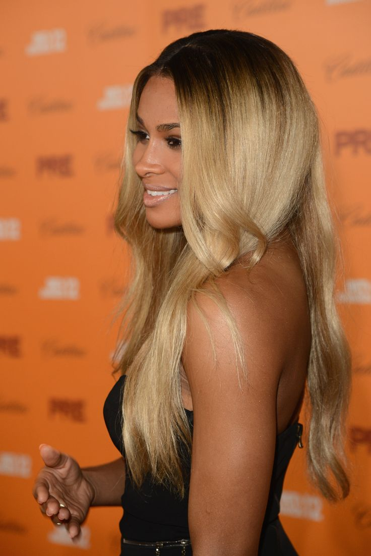 Dark roots w grown out blonde ends ciara your hair is