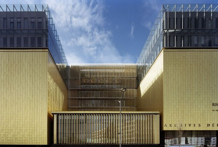 Gautier+Conquet Architectes · Les nouvelles archives départementale du Rhône · Divisare
