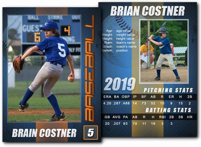 Free Baseball Card Template New 15 Psd Football Trading Card Baseball Trading Baseball Card Template Football Trading Cards Baseball Cards