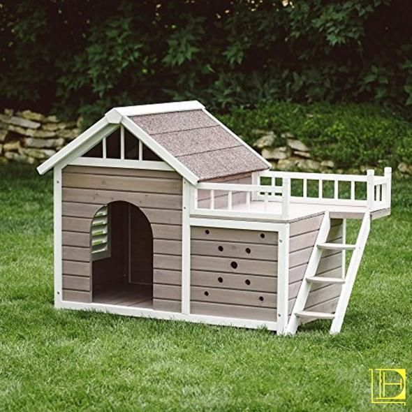10 Fancy Luxury Dog Houses That You Need To See To Believe Good Doggies Online Luxury Dog House Dog House Diy Dog House