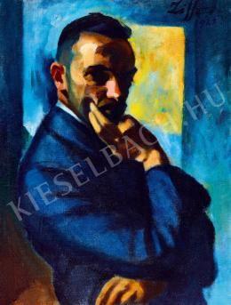 Ziffer Sándor - Kék önarckép