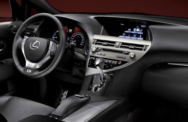 Lexus RX 350 Price 2013 (Interior)