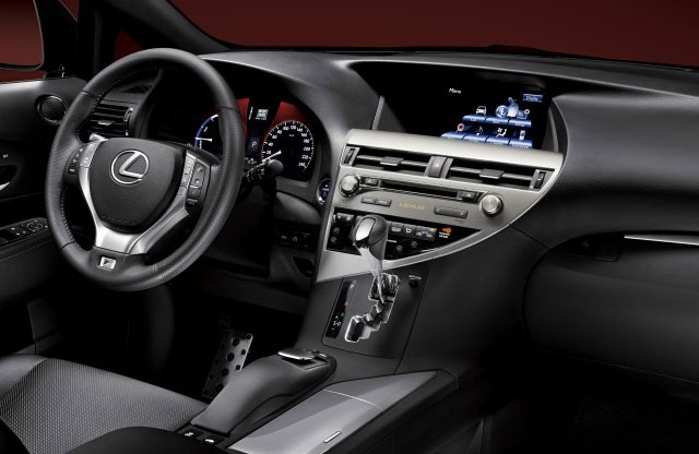 Lexus RX 350 Price 2013 (Interior)
