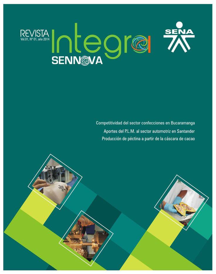 Revista INTEGRA. SENA Regional Santander  Revista Científica. Edición 01 - Año 2014